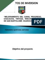 Exposicion Proyecto San Bartolome