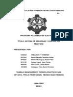 Monografia Sistema de Seguridad y Control via Telefono 2012-II