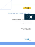 Upgrading-Updating PSCAD (Written for PSCAD X4 v4_5_0)