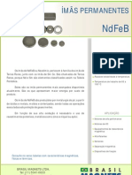 Catalogo Brasilmagnets Neodímio