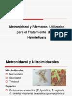 Antihelmnticos y Metronidazol