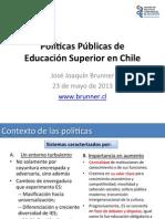 Politicas Publicas de La Educacion Chile