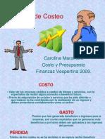 Presentacion de Costo y Presupuesto Ccs(1)