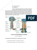 Transformadores de Corriente y Cálculo de Saturación
