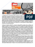 Comunicado Público_Jornada de movilización del 26 de Junio