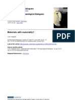 Knappet Materials With Materiality 2007