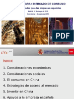 - China Un Gran Mercado de Consumo