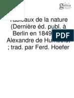 Humboldt - Tableau de la nature - Tome 2.pdf