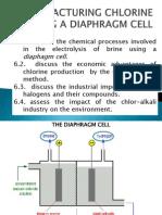 11.3.Manufacturing Chlorine Using a Diaphragm and a Membrane