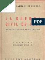Hernàn Ramìrez Necochea - La Guerra Civil de 1891