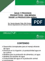 Germán Afanador- Una mirada desde la producción animal