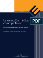 La redacción médica como profesión