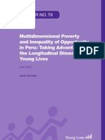 Multidimensional Poverty and Inequality of Opportunity in Peru