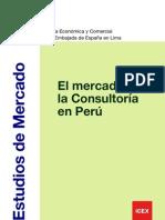 El mercado de Consultoria en el Perú