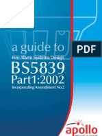 A Guide to Fire Alarm System Design BS 5839 Part 1:2002
