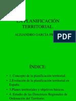La Planificacion Territorial