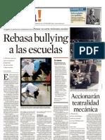 Rebasa Bullying a Las Escuelas