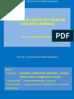 ESTRUTURAS DE CONCRETO - ESPECIALIZAÇÃO