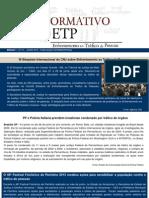 INFORMATIVO Enfrentamento ao Tráfico de Pessoas - nº 12 / junho de 2013