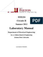 Circuits 2 Lab Manual