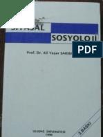 Ali Yaşar Sarıbay Siyasal Sosyoloji