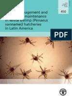 FAO Manual Bioseguridad Para Laboratorios de Larvas de Camaron Blanco en Latinoamerica