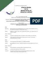 Programa Montevideo2009