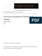 Foreword - Accounting for Technological Change_Orin S. KerrSSRN-Id2234319