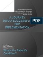 A Successful ERP Implementation Journey