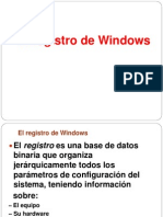 El Registro de Windows