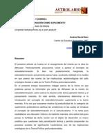 Andres David Dain - Marx, Althusser y Derrida - La Sobredeterminacion Como Suplemento