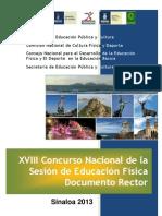 Documento Rector Sinaloa 2013