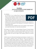 ACWES 2013 - Press Release_EN_Final