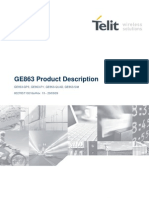 Telit GE863-QUAD PY GPS Product Description r13