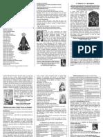 O Terço e o Rosário (com imagens preto e branco)