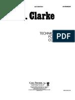 Clarke, Technical Studies(1)