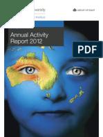 Monash Sustainability Institute - Annual Activity Report 2012