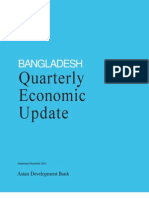 Bangladesh Quarterly Economic Update - September-December 2012