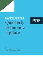 Bangladesh Quarterly Economic Update - June 2012