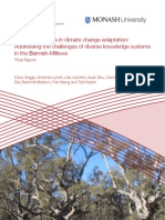 Indigenous voices in climate change adaptation