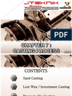 Chapter 7 - Casting Process