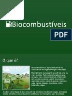 Biocombustíveis em geral e Etanol