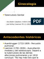 Tubercolosis. Ginecologia