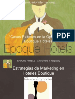 Estrategias de Marketing en Hoteles Boutique