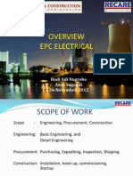 01. Overview EPC Electrical