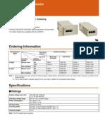 Csk Omron Counters sheet