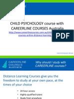 Child Psychology Course Online
