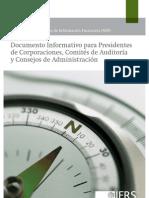 Documento Informativo para Presidentes de Corporaciones, Comités de Auditoría y Consejos de Administración