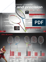 2013 Yonex Badminton - Arcsaber