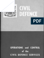Canada Operations and Control of the Civil Defence Services